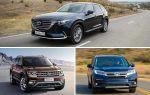 Полноразмерные кроссоверы 2019 года: Mazda CX-9, Volkswagen Teramont, Honda Pilot