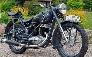 Ретро обзор: мотоцикл ИЖ-49