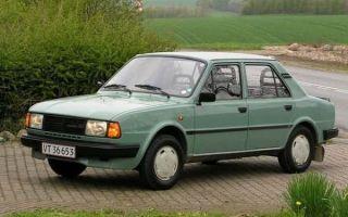 Примечательные черты чехословацкого седана Skoda 120