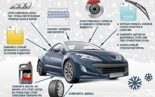 Как подготовить автомобиль к первым заморозкам