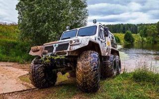 Снегоболотоход «Трэкол» – разработка российских инженеров