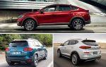 Новые компактные кроссоверы: Renault Arkana, Citroen C5 Aircross, Hyundai Tucson