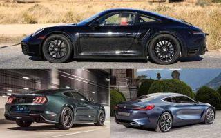Спортивные купе 2019 года: Porsche 911, Ford Mustang, BMW 8-Series