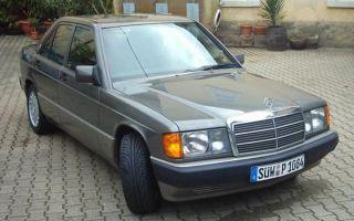 Ретро обзор: Mercedes-Benz W201 1989 года