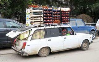 Последствия перегруза легкового автомобиля