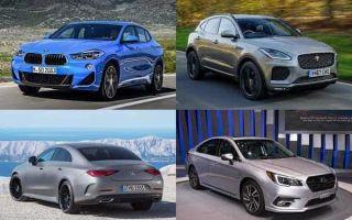 Новинки 2018 года: BMW X2, Jaguar E-Pace, Mercedes-Benz CLS, Subaru Legacy