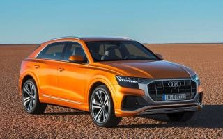 Обзор: Audi Q8 2019 года