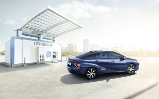 Автомобили на водородном топливе уже в России!