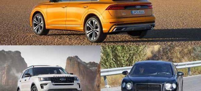 Гибридные кроссоверы 2019-2020 года: Audi Q8,Ford Explorer, Bentey Flying Spur