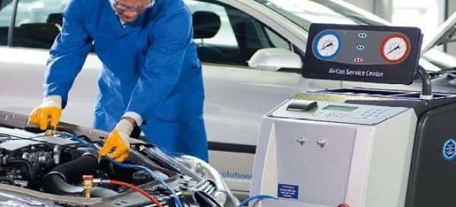 Особенности заправки и ремонта автокондиционеров