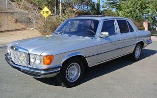 Ретро обзор: Mercedes-Benz W116 1979 года