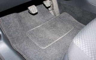 Как выбрать автомобильный коврик