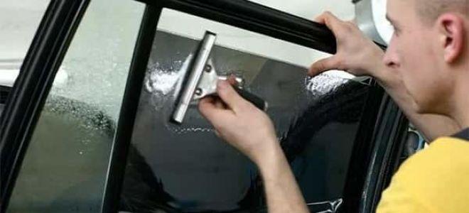 Как сделать тонировку стекол своими руками?