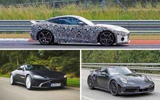 Купе-кабриолеты 2020 года: Jaguar F-Type, Aston Martin Vantage Volante, Porsche 911 Turbo