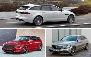Универсалы 2020 года: Jaguar XF, Genesis G70, Mercedes-Benz C-Class