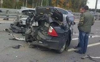 Мелкое ДТП на скоростной трассе может стать причиной серьёзной аварии!