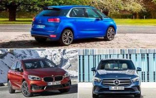 Компактвэны: Citroen C4 SpaceTourer, BMW 2-Series Active Tourer, Mercedes-Benz B-Class