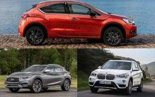 Компактные кроссоверы: Citroen DS4 Crossback, Infiniti QX30, BMW X1