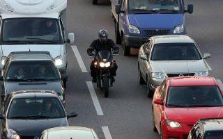 Как мотоциклисты провоцируют аварии, не нарушая ПДД