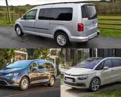 Минивэны: Volkswagen Caddy Maxi, Citroen Grand C4 Picasso, Chrysler Pacifica