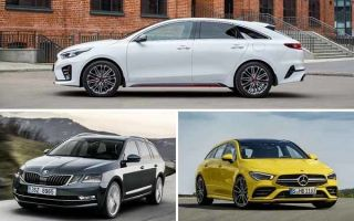 Выбираем универсал: Kia Proceed, Skoda Octavia Combi, Mercedes-Benz CLA Shooting Brake