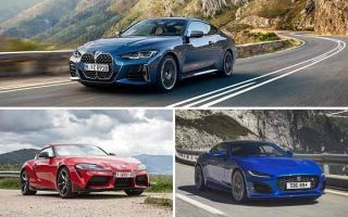 Спортивные купе: BMW 4 Series. Toyota Supra, Jaguar F-Type