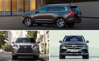 Полноразмерные кроссоверы: Cadillac XT6, Lexus GX, Mercedes-Benz GLS