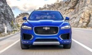 Обновленный Jaguar F-Pace с дизельным двигателем