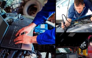 Диагностика двигателя: этапы проведения