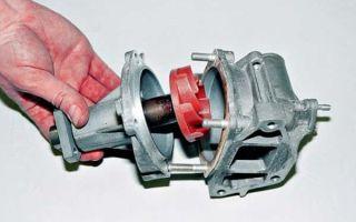Устройство и принцип работы насоса (помпы) системы охлаждения двигателя