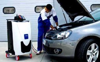Обслуживание кондиционера в автомобиле