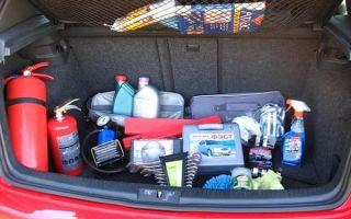 Что необходимо возить в машине на случай поломки