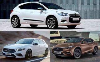 Премиальные хэтчбеки C-класса: Citroen DS4, Mercedes-Benz A-Class, Infiniti Q30