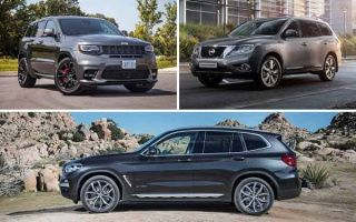 Премиальные кроссоверы 2020 года: Jeep Grand Cherokee, Nissan Pathfinder, BMW X3