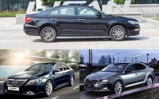 Бизнес-седаны с двигателем до 2 литров: Lifan Murman, Toyota Camry, Skoda Superb