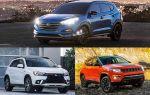 Компактные кроссоверы: Hyundai Tucson, Mitsubishi ASX, Jeep Compass