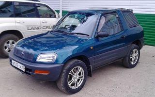 Ретро обзор: Toyota RAV4 1995 года (первое поколение)