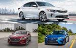 Обзор седанов Д-класса: Kia Optima, Mazda 6, Toyota Camry