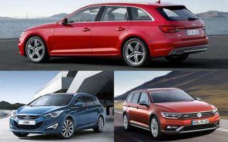 Универсалы D-класса: Audi A4 Avant, Volkswagen Passat Alltrack, Hyundai i40
