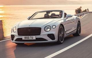 Обзор: Bentley Continental GT Convertible 2019 года