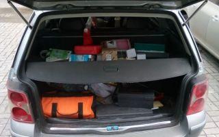 Список важных деталей для багажного отделения автомобиля