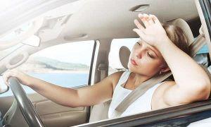 Когда в машине очень жарко, соблюдайте эти правила безопасности!