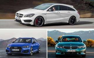 Универсалы 2019 года: Mercedes-Benz CLA, Audi RS4 Avant, BMW M340i