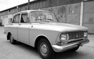 Ретро автомобиль Москвич 412