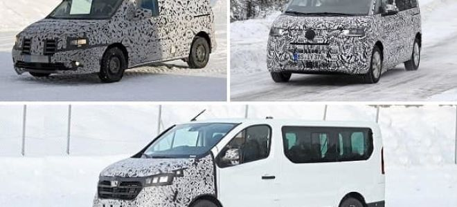Минивэны 2021 года: Mercedes-Benz Citan, Volkswagen Transporter, Renault Trafic