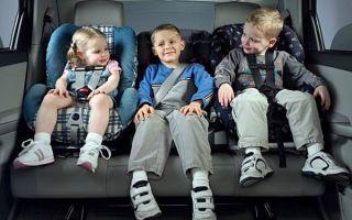 Как перевозить детей в автомобиле: требования ПДД