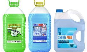 Как выбрать стеклоомывающую жидкость?