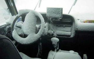 Как правильно прогреть машину зимой