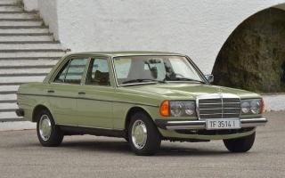 Ретро обзор: Mercedes-Benz W123 1980 года