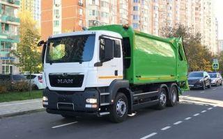 Мусоровозы MAN – новый уровень утилизации отходов